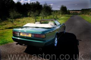 обзор Астон Мартин Aston Martin Virage Volante 1992. Кликните для просмотра фото автомобиля большего размера.