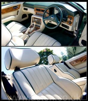 роскошный Астон Мартин Aston Martin Virage Volante 1992. Кликните для просмотра фото автомобиля большего размера.