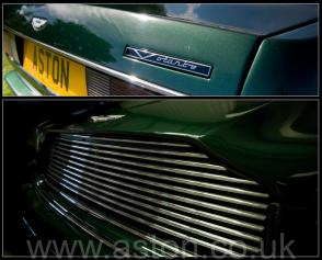 на дороге Астон Мартин Aston Martin Virage Volante 1992. Кликните для просмотра фото автомобиля большего размера.