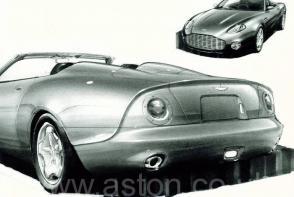 цвет Астон Мартин Aston Martin DB AR1 2004. Кликните для просмотра фото автомобиля большего размера.