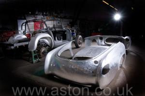 обивка Астон Мартин Aston Martin DB2/4 Vignale 1954. Кликните для просмотра фото автомобиля большего размера.