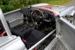 салон Триумф Triumph TR6 Race Car 1972. Кликните для просмотра фото автомобиля большего размера.
