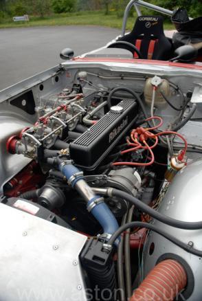 красивый Триумф Triumph TR6 Race Car 1972. Кликните для просмотра фото автомобиля большего размера.