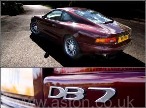 вид Астон Мартин Aston Martin DB7 Coupe 1996. Кликните для просмотра фото автомобиля большего размера.