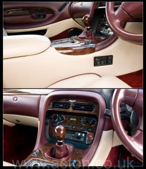 красивый Астон Мартин Aston Martin DB7 Coupe 1996. Кликните для просмотра фото автомобиля большего размера.
