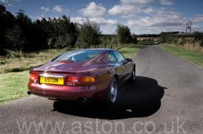 на трассе Астон Мартин Aston Martin DB7 Coupe 1996. Кликните для просмотра фото автомобиля большего размера.