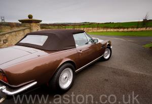 цвет Астон Мартин Aston Martin V8 Volante 1985. Кликните для просмотра фото автомобиля большего размера.
