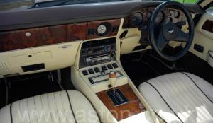 разгон Астон Мартин Aston Martin V8 Volante 1985. Кликните для просмотра фото автомобиля большего размера.