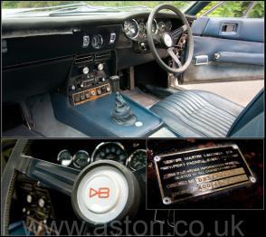 роскошный Астон Мартин Aston Martin DBS6 1970. Кликните для просмотра фото автомобиля большего размера.