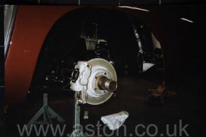 обивка Астон Мартин Aston Martin DB5 Vantage Spec 1965. Кликните для просмотра фото автомобиля большего размера.