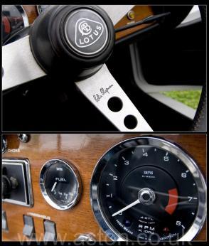 на дороге Лотус Lotus Elan S4 Open Sports 1971. Кликните для просмотра фото автомобиля большего размера.
