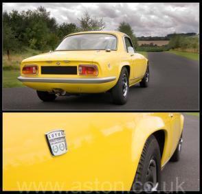 цвет Лотус Lotus S3 Elan SE Limited Edition 1969. Кликните для просмотра фото автомобиля большего размера.