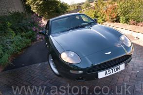 фото Астон Мартин Aston Martin DB7 Coupe 1997. Кликните для просмотра фото автомобиля большего размера.