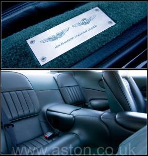 роскошный Астон Мартин Aston Martin DB7 Coupe 1997. Кликните для просмотра фото автомобиля большего размера.