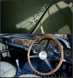вид Астон Мартин Aston Martin DB4 GT 1961. Кликните для просмотра фото автомобиля большего размера.