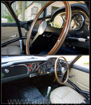 на трассе Астон Мартин Aston Martin DB4 GT 1961. Кликните для просмотра фото автомобиля большего размера.