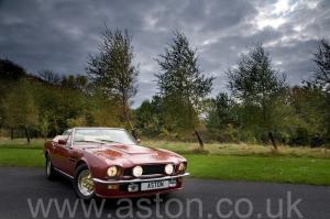 фото Астон Мартин Aston Martin V8 Volante 1980. Кликните для просмотра фото автомобиля большего размера.
