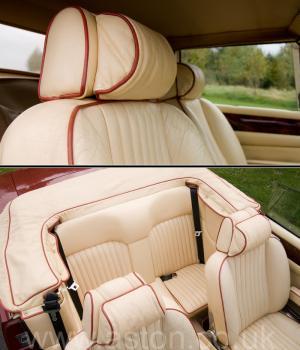 красивый Астон Мартин Aston Martin V8 Volante 1980. Кликните для просмотра фото автомобиля большего размера.