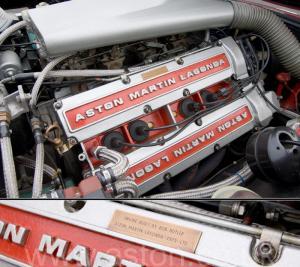 на дороге Астон Мартин Aston Martin V8 Volante 1980. Кликните для просмотра фото автомобиля большего размера.