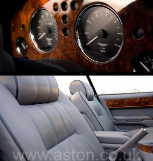 на дороге Астон Мартин Aston Martin V8 Volante - LWB 2000. Кликните для просмотра фото автомобиля большего размера.