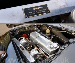 разгон Austin Healey 100M 1955. Кликните для просмотра фото автомобиля большего размера.