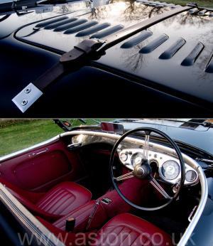 обзор Austin Healey 100M 1955. Кликните для просмотра фото автомобиля большего размера.
