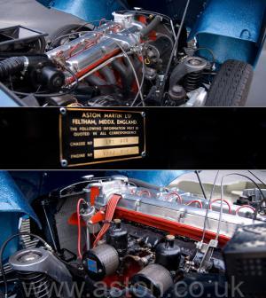 цвет Астон Мартин DB2/4 Mk 1 1955. Кликните для просмотра фото автомобиля большего размера.