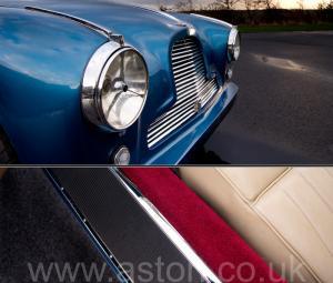 на дороге Астон Мартин DB2/4 Mk 1 1955. Кликните для просмотра фото автомобиля большего размера.