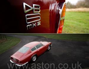 роскошный Астон Мартин DB6 MK II 1970. Кликните для просмотра фото автомобиля большего размера.