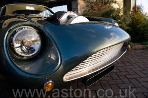 салон Астон Мартин DB4 GT Zagato 1960. Кликните для просмотра фото автомобиля большего размера.