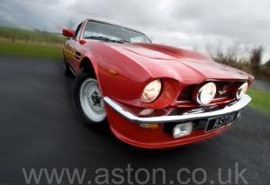 фото Астон Мартин V8 Coupe 1976. Кликните для просмотра фото автомобиля большего размера.