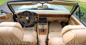 кузов Астон Мартин Воланте (Volante) 1982. Кликните для просмотра фото автомобиля большего размера.