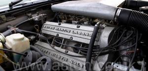 на трассе Астон Мартин Воланте (Volante) 1982. Кликните для просмотра фото автомобиля большего размера.