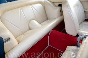 салон Астон Мартин DB6 Mk1 1969. Кликните для просмотра фото автомобиля большего размера.