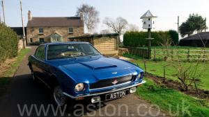 роскошный Астон Мартин AM Vantage 1973. Кликните для просмотра фото автомобиля большего размера.