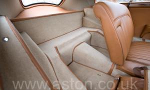 салон Астон Мартин Последний DB2 Mk1 1953. Кликните для просмотра фото автомобиля большего размера.