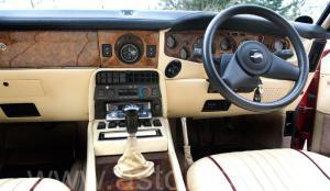 кузов Астон Мартин V8 Vantage X-Pack 1988. Кликните для просмотра фото автомобиля большего размера.