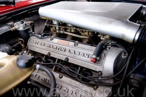 салон Астон Мартин V8 Vantage X-Pack 1988. Кликните для просмотра фото автомобиля большего размера.