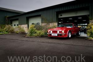 обзор Астон Мартин V8 Vantage X-Pack 1988. Кликните для просмотра фото автомобиля большего размера.