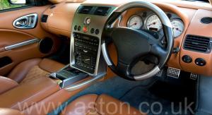 кузов Астон Мартин Vanquish V12 2002. Кликните для просмотра фото автомобиля большего размера.