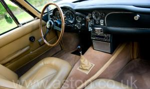 обивка Астон Мартин DB6 MK1 1967. Кликните для просмотра фото автомобиля большего размера.